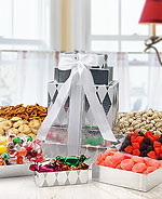 Christmas Gift Basket - Snack Towers