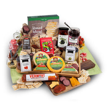 Artesian Meat & Cheese Platter $99.99 Sausage, Cheese Crackers, Jams and More!