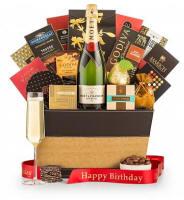 Birthday Champagne Gift Basket