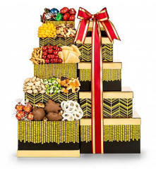 New Mexico Golden Chocolate Gift Tower