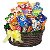 New Hampshire Junk Food Birthday Basket 4495