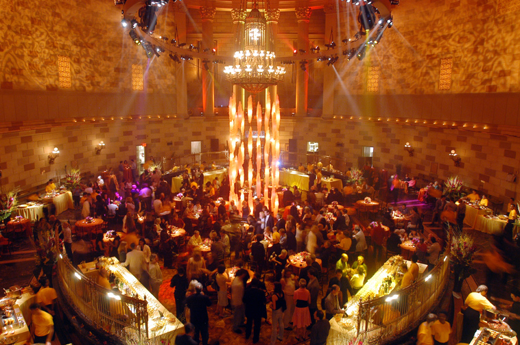 New York Event Locations Gotham Hall Bowling Alley