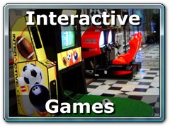 Interactive Games, Arcade Games, NASCAR Racing Simulators