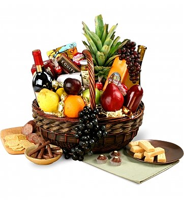 Beverly hills same day wine baskets delivery for for Next day wine gifts