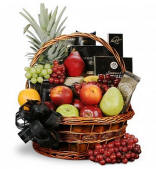 Sympathy Fruit Basket $89.95